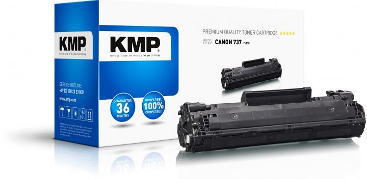 KMP C-T38 Toner Schwarz für Canon 737 (9435B002)