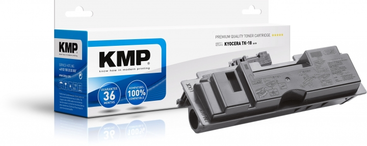 KMP Toner ersetzt Kyocera TK18