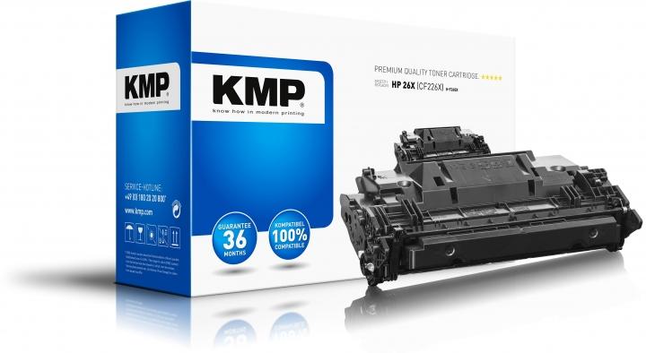 KMP Toner H-T245X Schwarz ersetzt HP 26X (CF226X)