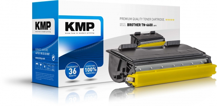 KMP B-T1 Toner für Brother TN6600 / HL-1030/ Fax-8350/ MFC 9650black