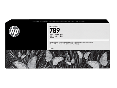 HP 789 Schwarz Latex Designjet Tintenpatrone (775 ml)