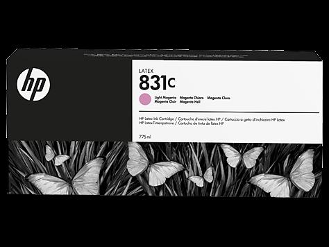 HP 831C Latex-Tinte hell magenta 775 ml (CZ699A)