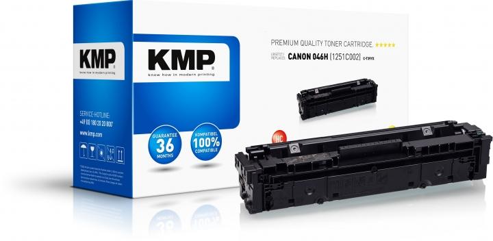 KMP C-T39YX Toner Yellow ersetzt Canon 046 1250C002
