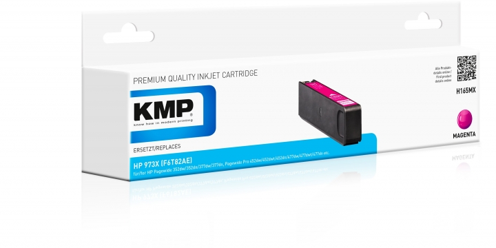 KMP H-165MX Toner Magenta ersetzt HP 973X (F6T82AE)