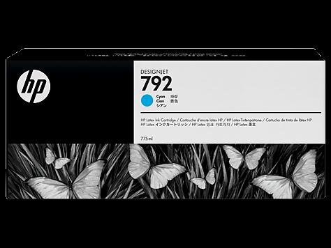 HP 792 Tinte cyan Original 775ml CN706A
