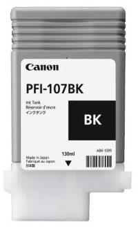 Canon Tinte schwarz PFI-107BK 130ml