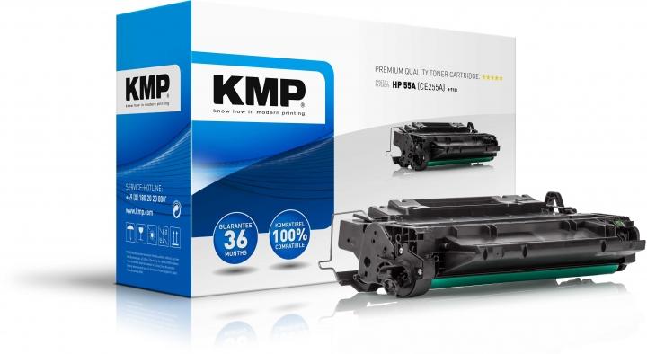 KMP H-T131 Toner ersetzt HP 55A (CE255A)