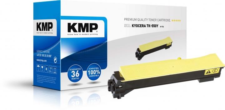 KMP K-T34 Toner ersetzt Kyocera TK550Y