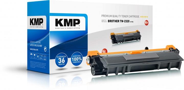 KMP B-T56 Toner Schwarz ersetzt Brother TN2320