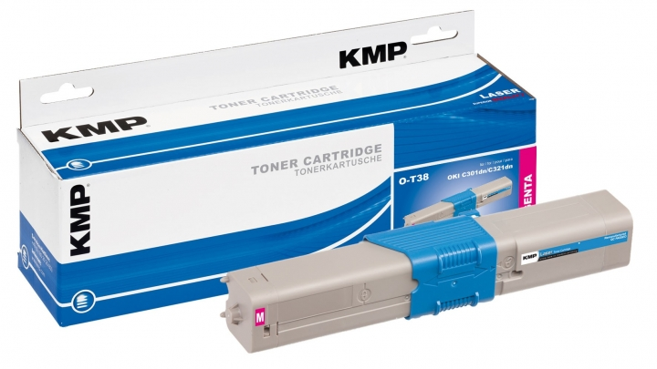KMP O-T38 Toner ersetzt OKI (44973534)