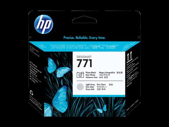 HP 771 Fotoschwarz / Hellgrau DesignJet Druckkopf