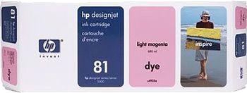 HP 81 Tinte hell magenta 680ml für DesignJet 5000/PS