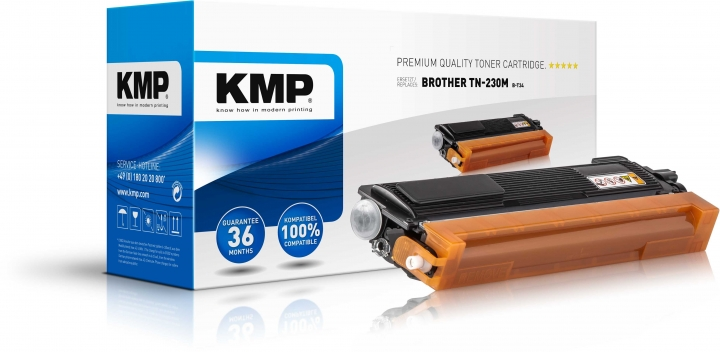 KMP B-T34 Toner für Brother TN-230 magenta