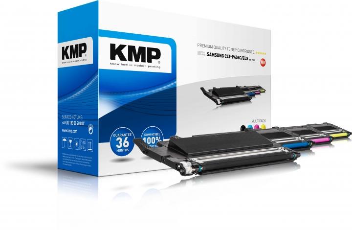 KMP Toner Multipack für Samsung CLP-360/365/ CLX-330/3305/ C410/ C460