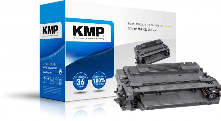 KMP H-T230 Toner Schwarz ersetzt HP 55A (CE255A)