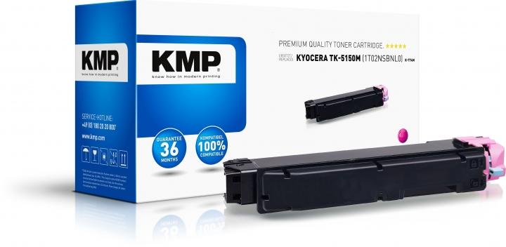 KMP K-T74M Toner Magenta ersetzt Kyocera TK5150M (1T02NSBNL0)
