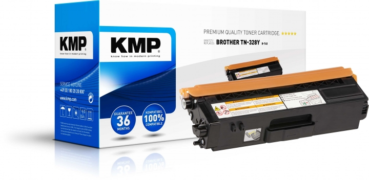 KMP B-T45 Toner YellowBROTHER BROTHER Brother TN328Y