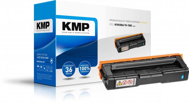 KMP K-T36 Toner ersetzt Kyocera TK150C