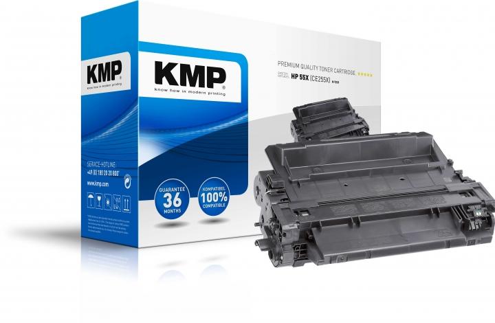 KMP H-T231 Toner ersetzt HP 55X (CE255X) - zuvor H-T132