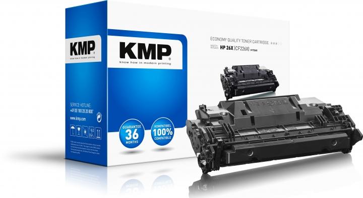 KMP Toner H-T224X Schwarz ersetzt HP 26X (CF226X)
