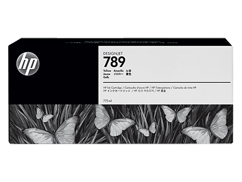 HP 789 Gelb Latex Designjet Tintenpatrone (775 ml)