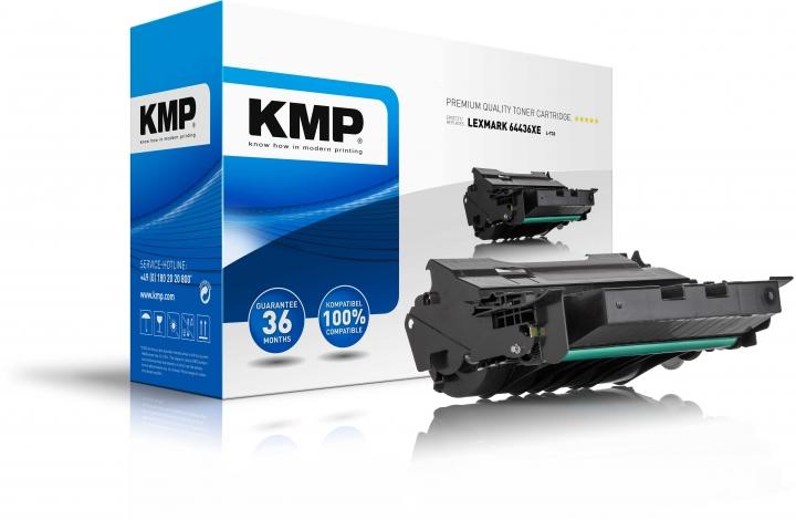 KMP L-T33 Toner ersetzt Lexmark (64436XE)