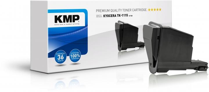 KMP K-T60 Toner ersetzt Kyocera TK1115 (1T02M50NL0)