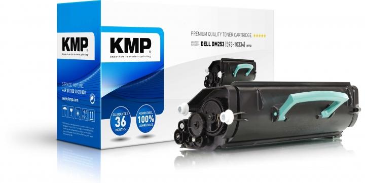 KMP Toner ersetzt Dell DM253