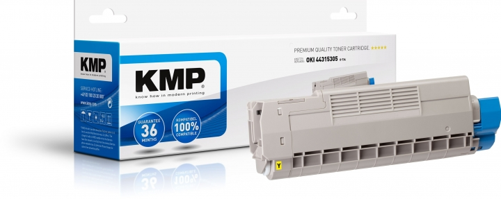 KMP O-T34 Toner ersetzt OKI (44315305)