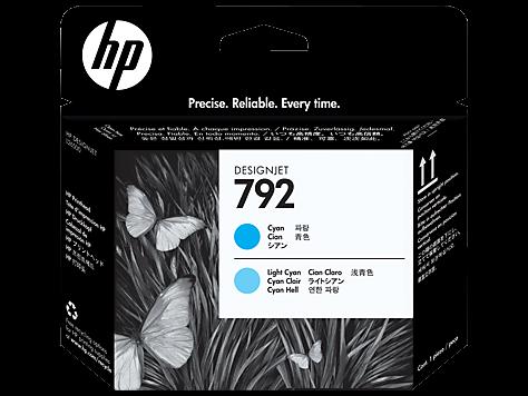 HP 792 cyan / cyan hell Original Druckkopf