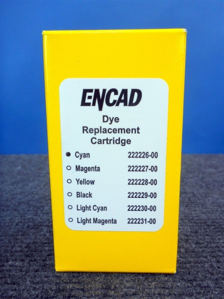Encad Light Cyan Pigment Replacement Cartridge for NovaJet 1000i Series Printers 222224-00