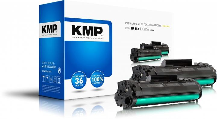 KMP H-T154D Toner Doppelpack ersetzt HP 85A (CE285A)