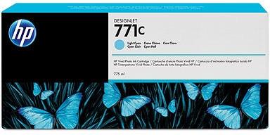 HP Nr. 771c Tinte light cyan (B6Y12A) 775ml