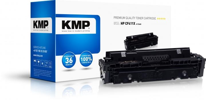 KMP H-T240X Toner Cyan ersetzt HP LaserJet Pro M450 Series/M470 Series/MFP M377 Series/M477 Series-