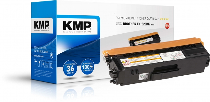 KMP B-T82 Toner ersetzt Brother TN320BK