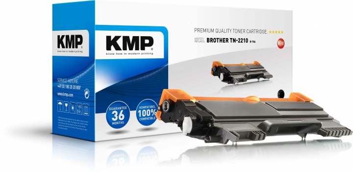 KMP B-T86 Toner ersetzt Brother TN2210