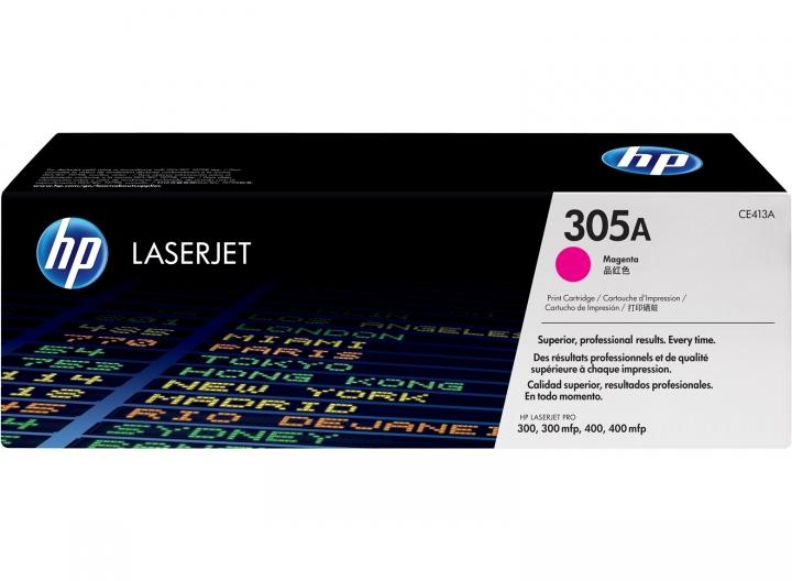 Toner HP CE413A, Nr 305A magenta 2600 Seiten