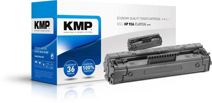 KMP H-T17 Toner ersetzt HP 92A