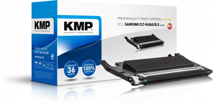 KMP SA-T53 Toner schwarz ersetzt CLT-K406