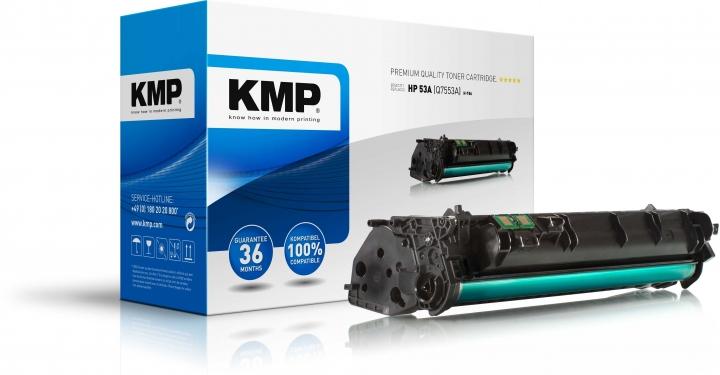 KMP H-T86 Toner HP 53A (Q7553A)