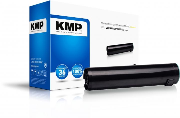 KMP L-T104B Toner Schwarz ersetzt Lexmark C930H2KG