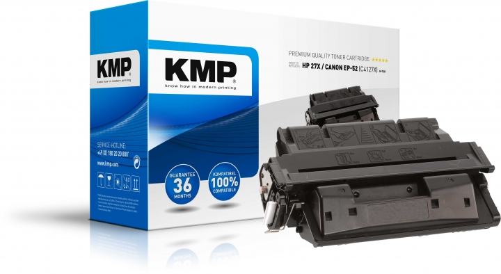 KMP H-T48 Toner ersetzt HP 27X (C4127X)