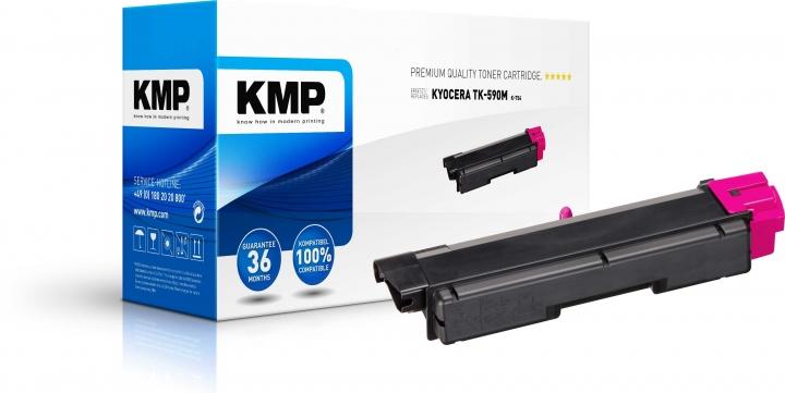 KMP K-T54 Toner ersetzt Kyocera TK590M (1T02KVBNL0)