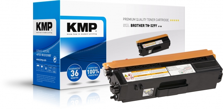 KMP B-T68 Toner Gelb ersetzt Brother TN-329Y