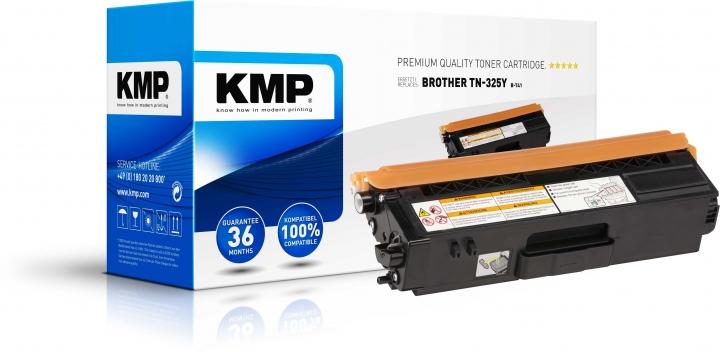 KMP B-T41 Toner für Brother TN-325Y yellow
