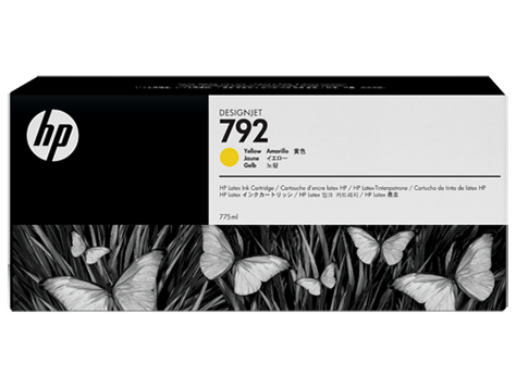 HP 792 Tinte gelb Original 775ml CN708A