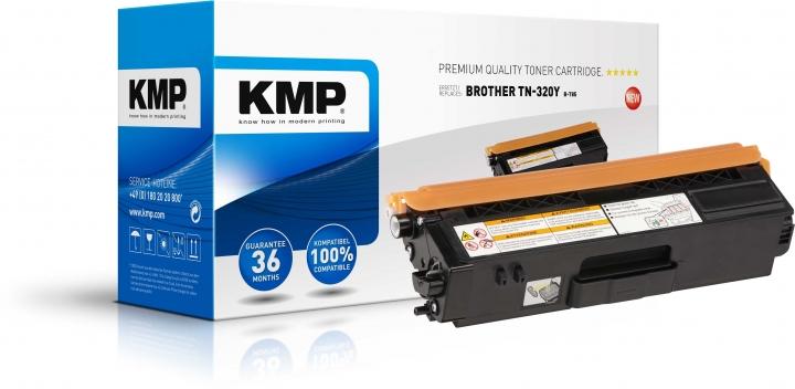 KMP B-T85 Toner ersetzt Brother TN320Y