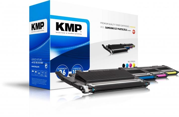 KMP SA-T38V Toner Multipack für Samsung CLP-320/ CLP-325/ CLX-3180/ CLX-3185