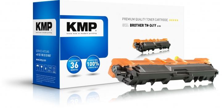 KMP B-T81 Toner Gelb ersetzt Brother Brother TN241Y
