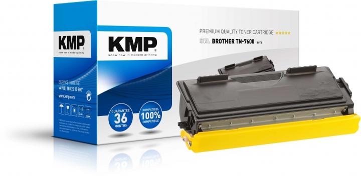 KMP B-T2 Toner für Brother TN-7600 schwarz